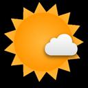 Ein freundlicher Tag mit einem Wechselspiel aus Sonne und Wolken.... Klick für mehr Infos