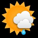 Ein Wechselspiel aus Sonne und Wolken, später kommt Schneeregen auf.... Klick für mehr Infos