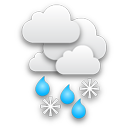 Der morgendliche Regen klingt langsam ab, es wird zeitweise sonnig.... Klick für mehr Infos
