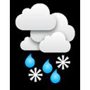 Trüb mit teils kräftigem Schneefall, zwischendurch auch mit Schneere... Klick für mehr Infos